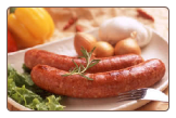 Smoked  Berkshire Sausage - made with all natural ingredients